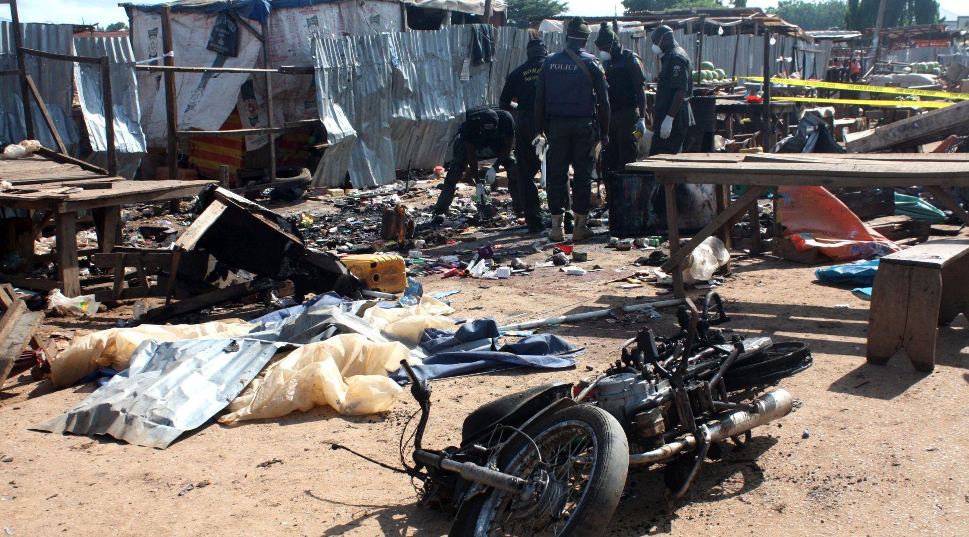 DVA BOMBAŠKA NAPADA Najmanje 37 ljudi poginulo u Nigeriji