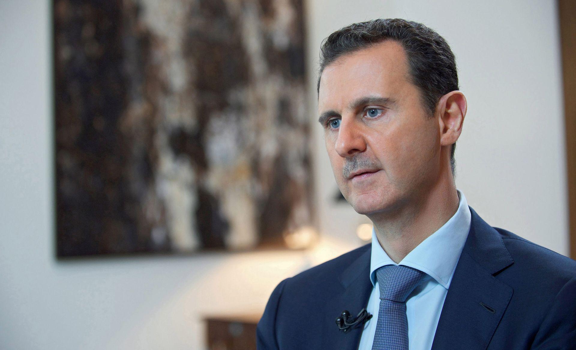 Bashar al-Assad. FOTO: EPA/SANA