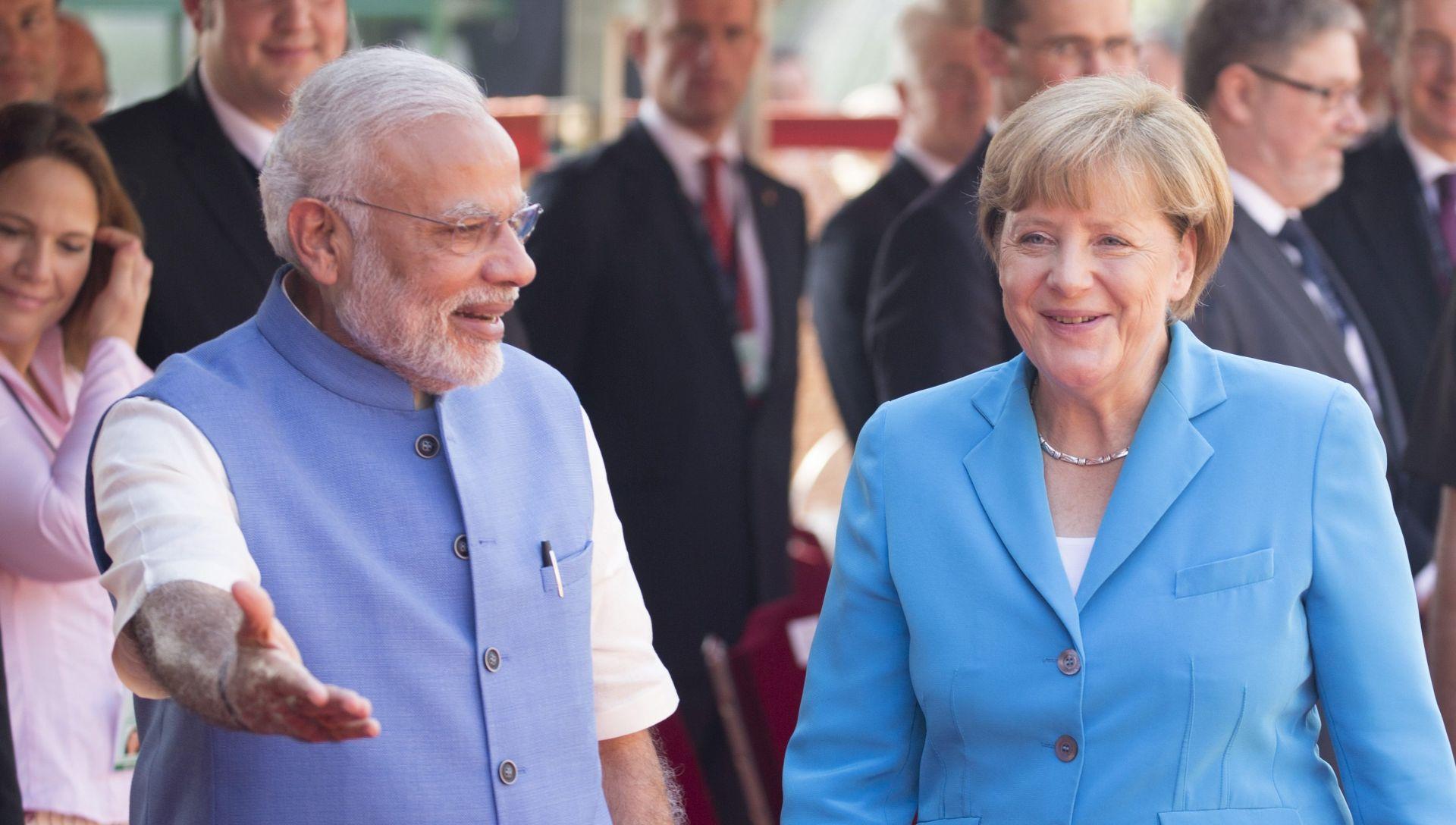 Merkel: Njemačka želi biti partner u indijskom gospodarskom razvoju