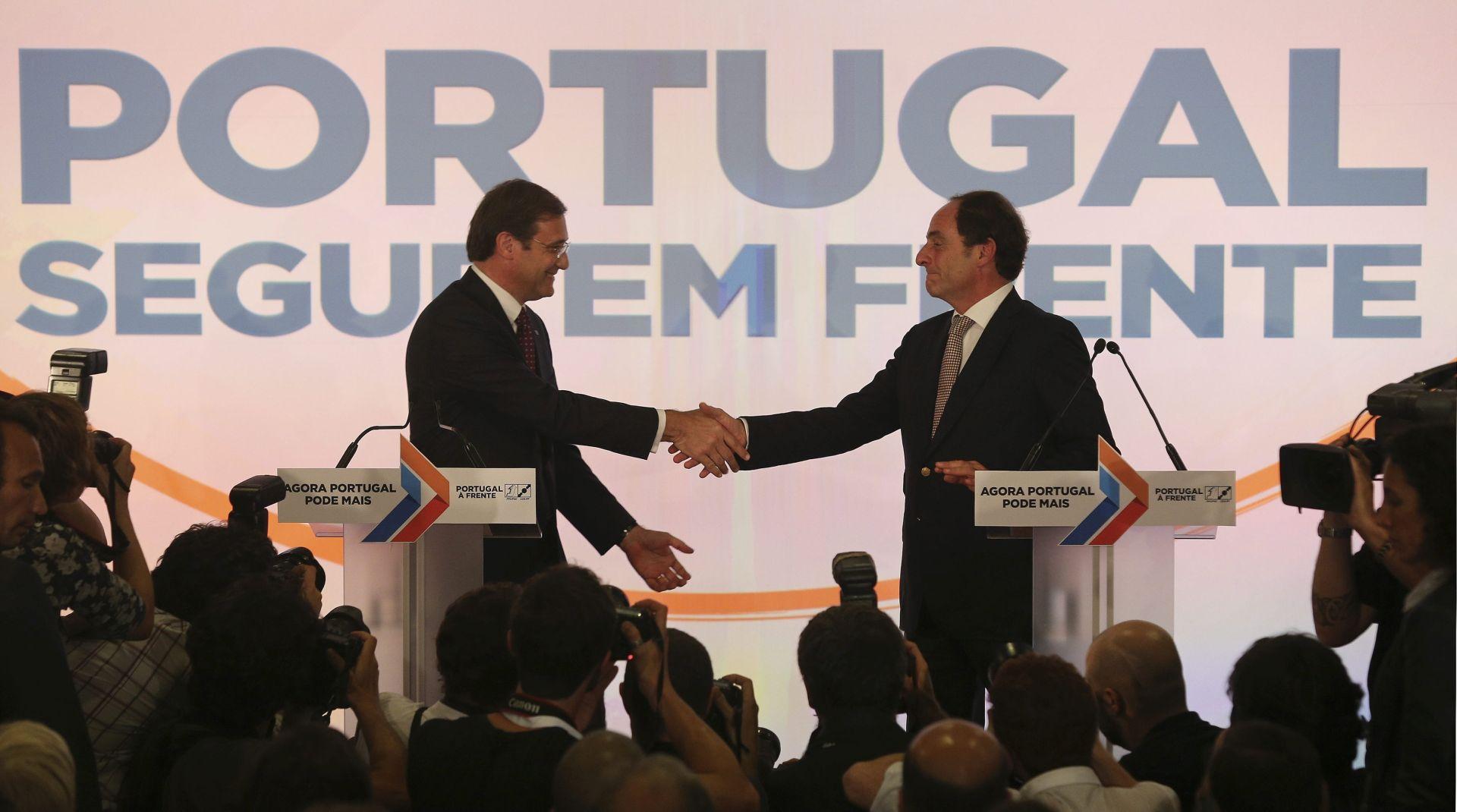 Portugalski predsjednik zatražio od Coelha da formira novu vladu