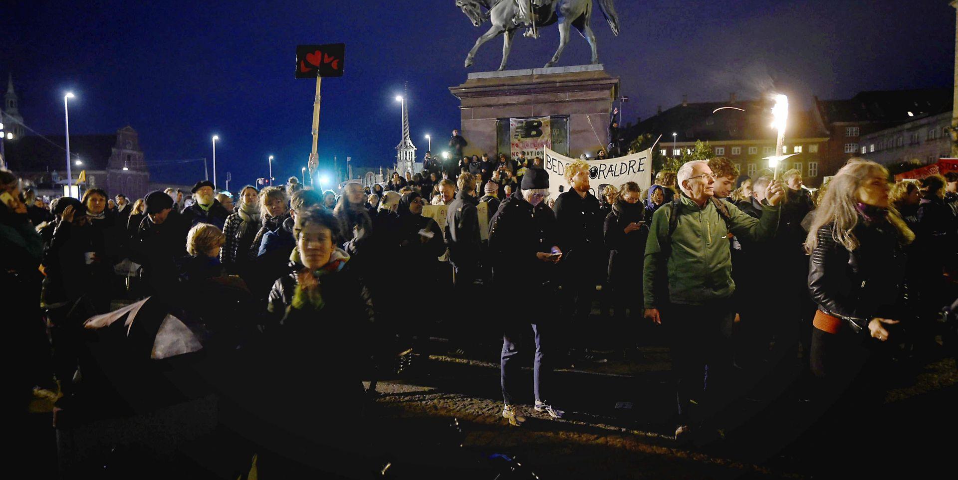 """Kopenhagen: Mimohod više od 20.000 ljudi za """"dostojan tretman izbjeglica"""""""