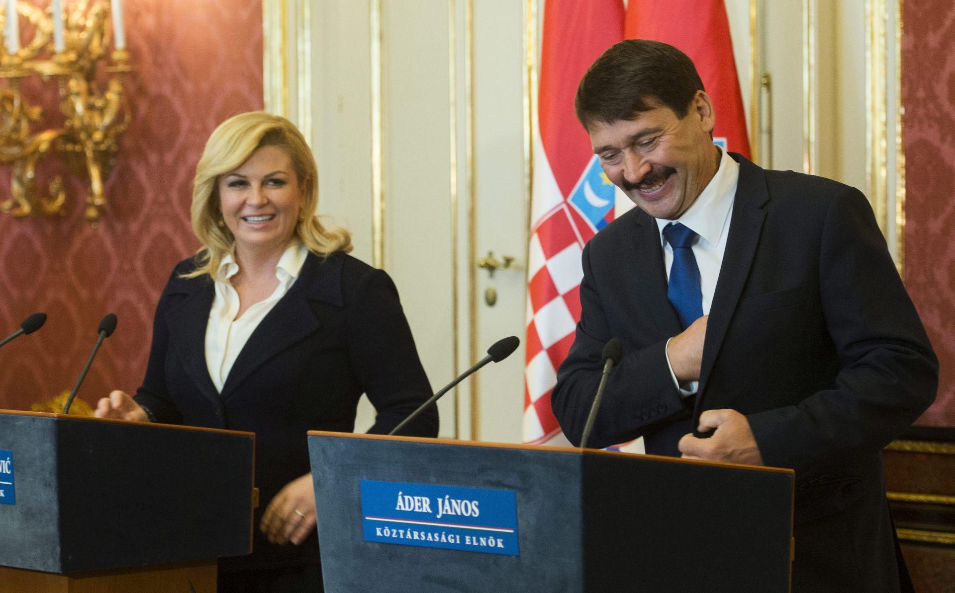 Grabar-Kitarović i Ader: Migrantska kriza je dugoročni problem