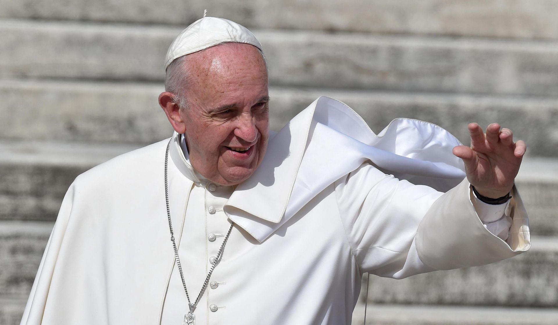 PRVA FILMSKA ULOGA Papa Franjo u obiteljskoj avanturi glumit će samog sebe