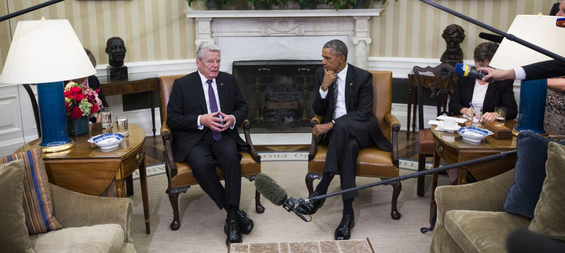 Gauck: SAD se treba uključiti u rješavanje izbjegličke krize