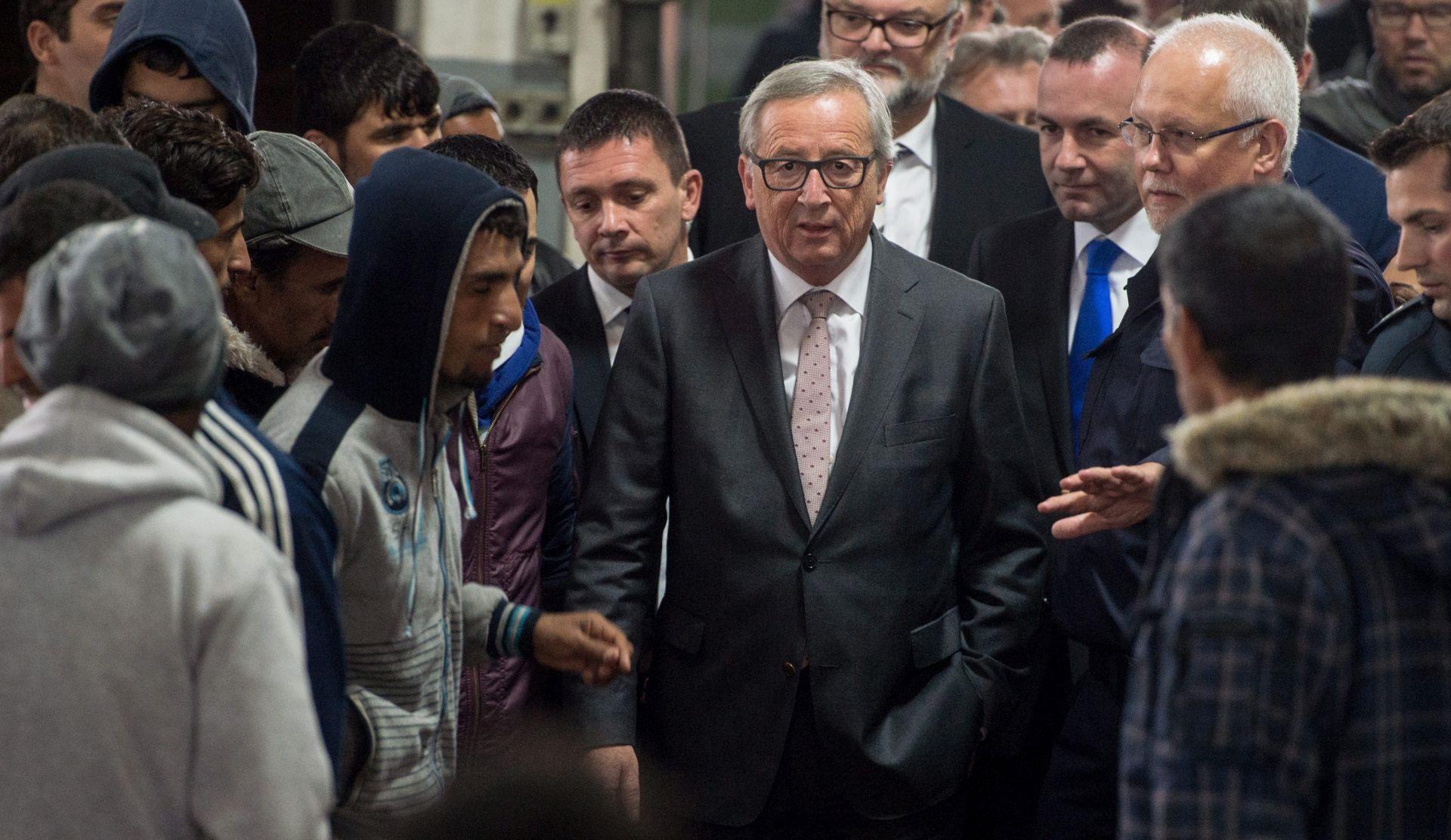 JUNCKER Izbjeglička kriza u Europi trajat će godinama