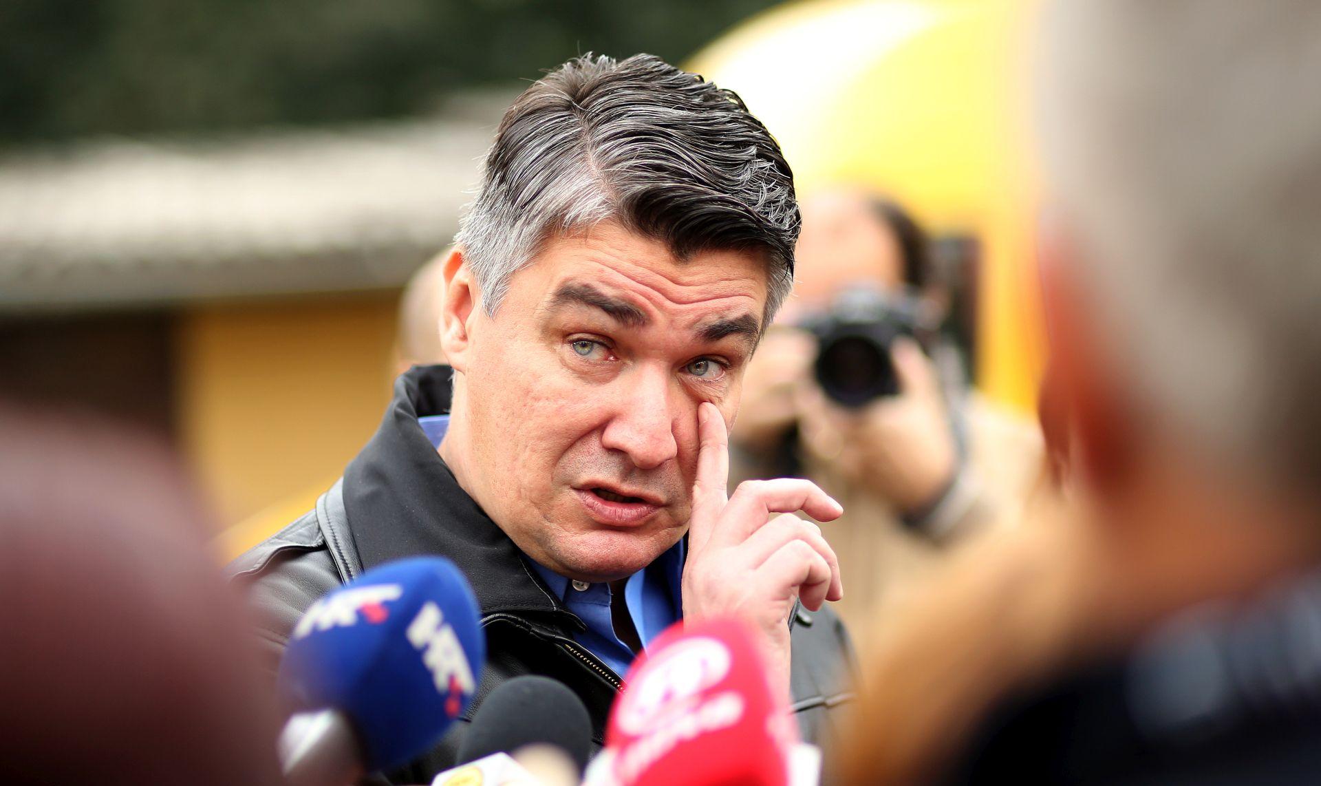 """Milanović: """"Predsjednica radi ono što misli da je dobro za Hrvatsku, ali ja ju ne razumijem"""""""