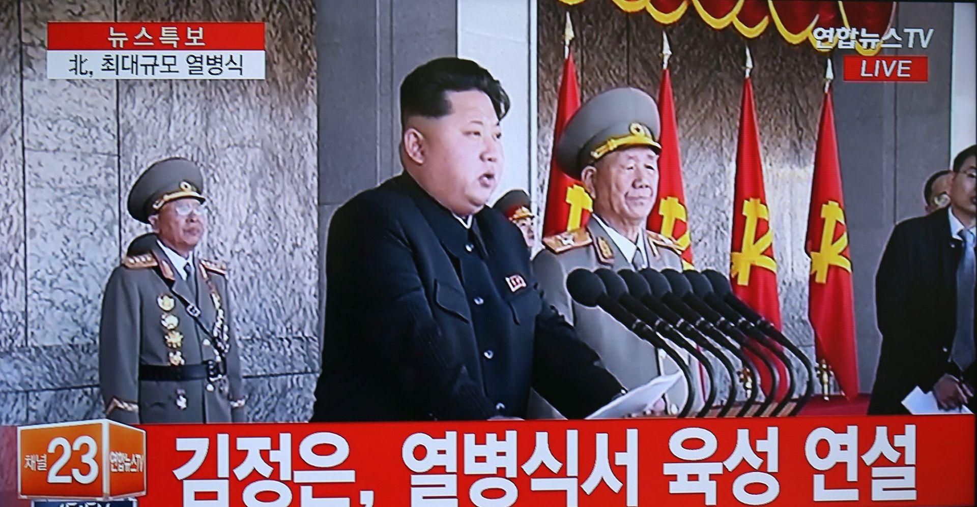 KIM JONG UN 'Sjeverna Koreja spremna na svaki rat koji bi izazvale Sjedinjene Države'