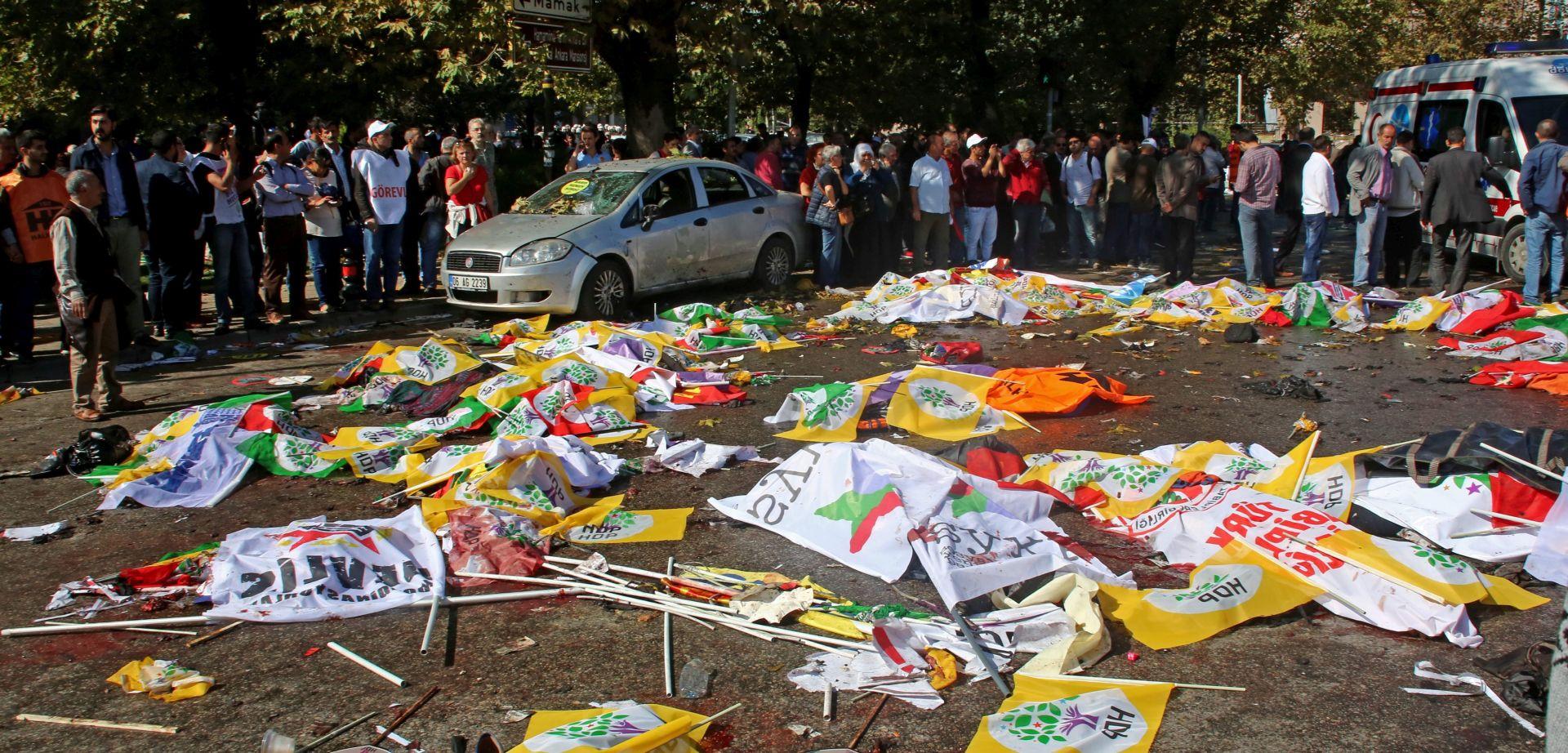 MEĐU STRADALIMA NEMA HRVATA; PKK PREKIDA GERILSKE AKTIVNOSTI Erdogan i NATO snažno osudili bombaški napad u Ankari