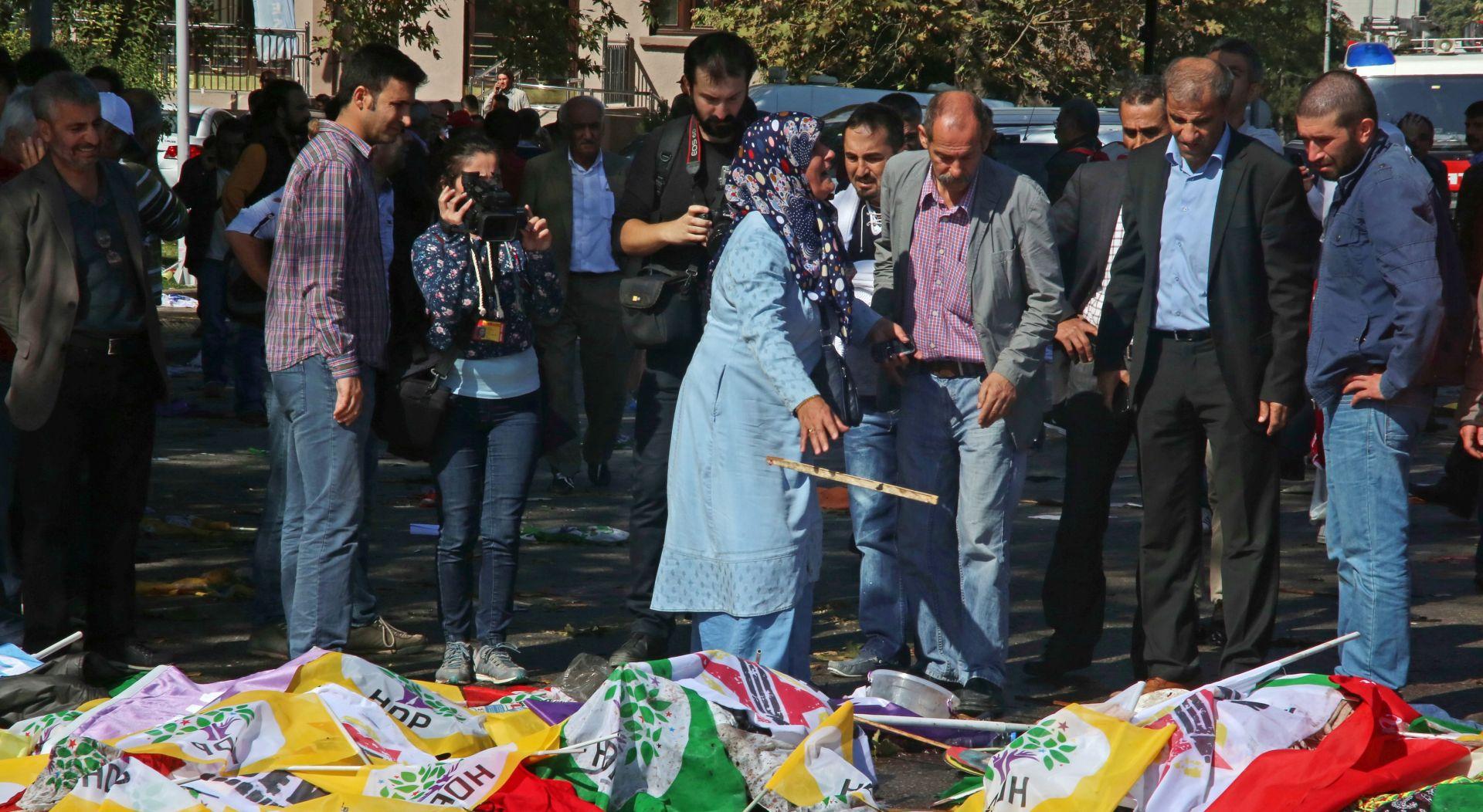 RASTE BROJ ŽRTAVA Ministar zdravstva: U napadu u Ankari 86 mrtvih