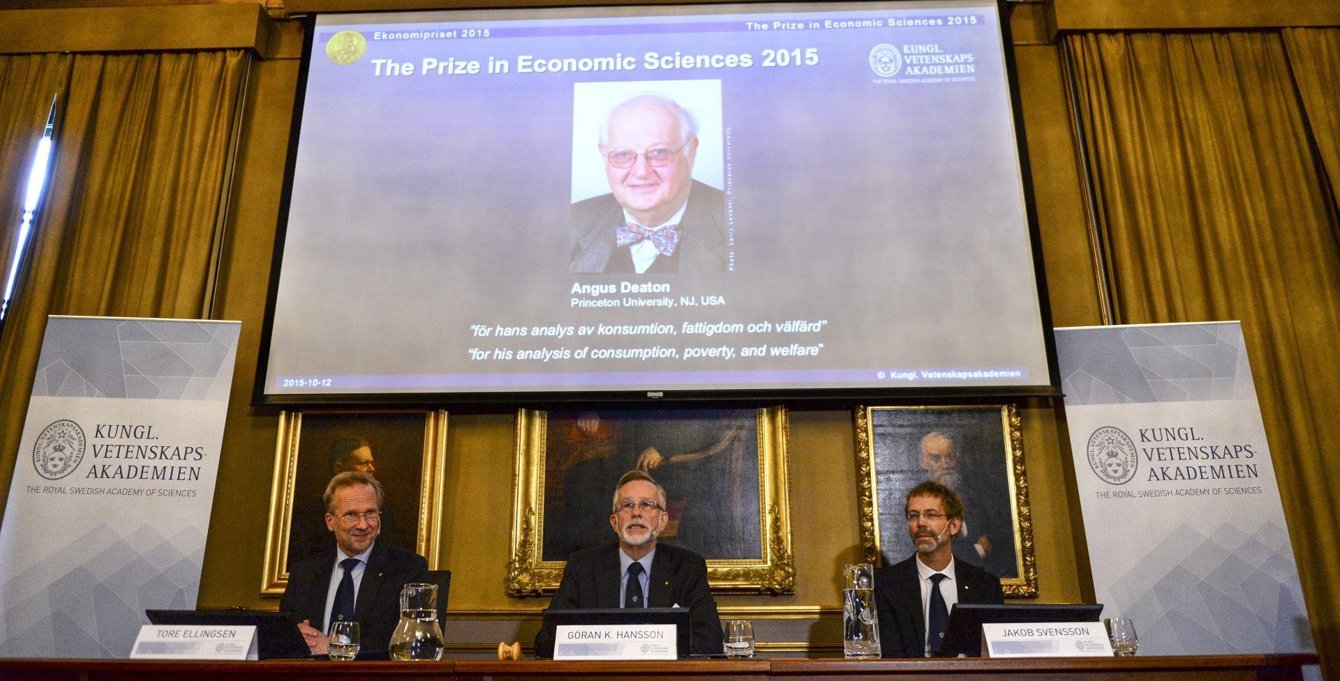 Britansko-američki ekonomist Angus Deaton dobitnik ovogodišnje Nobelove nagrade za ekonomiju