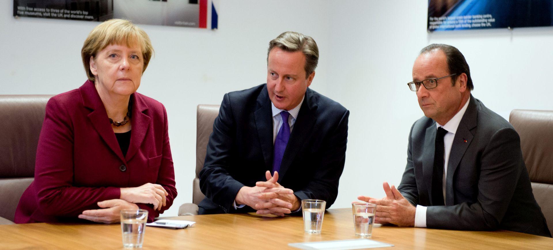 Hollande, Merkel i Cameron u potrazi za zajedničkim stajalištem o Siriji