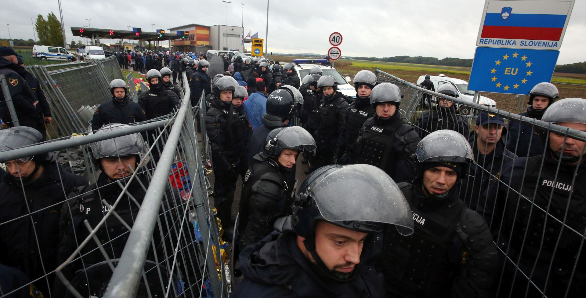 SLOVENIJA: Migrantski kamp u Šentilju skoro ispražnjen