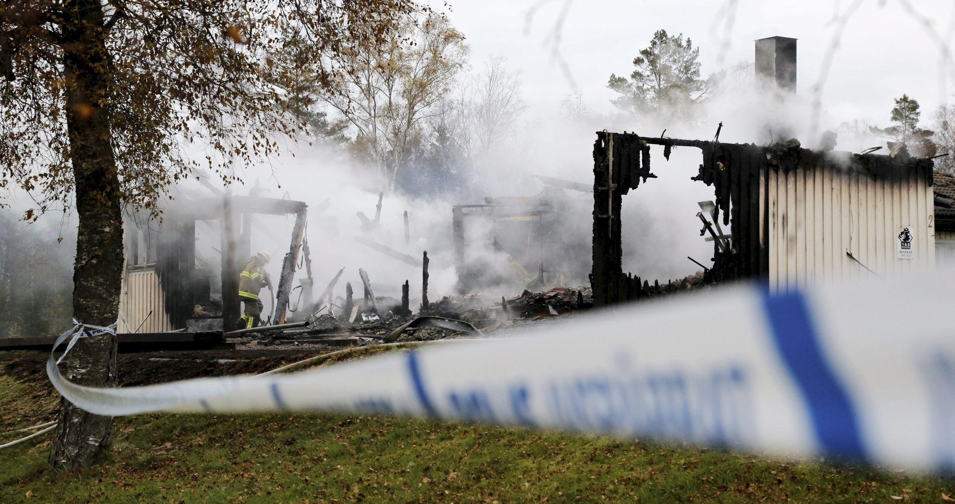 Švedska: U požaru oštećena zgrada za smještaj izbjeglica