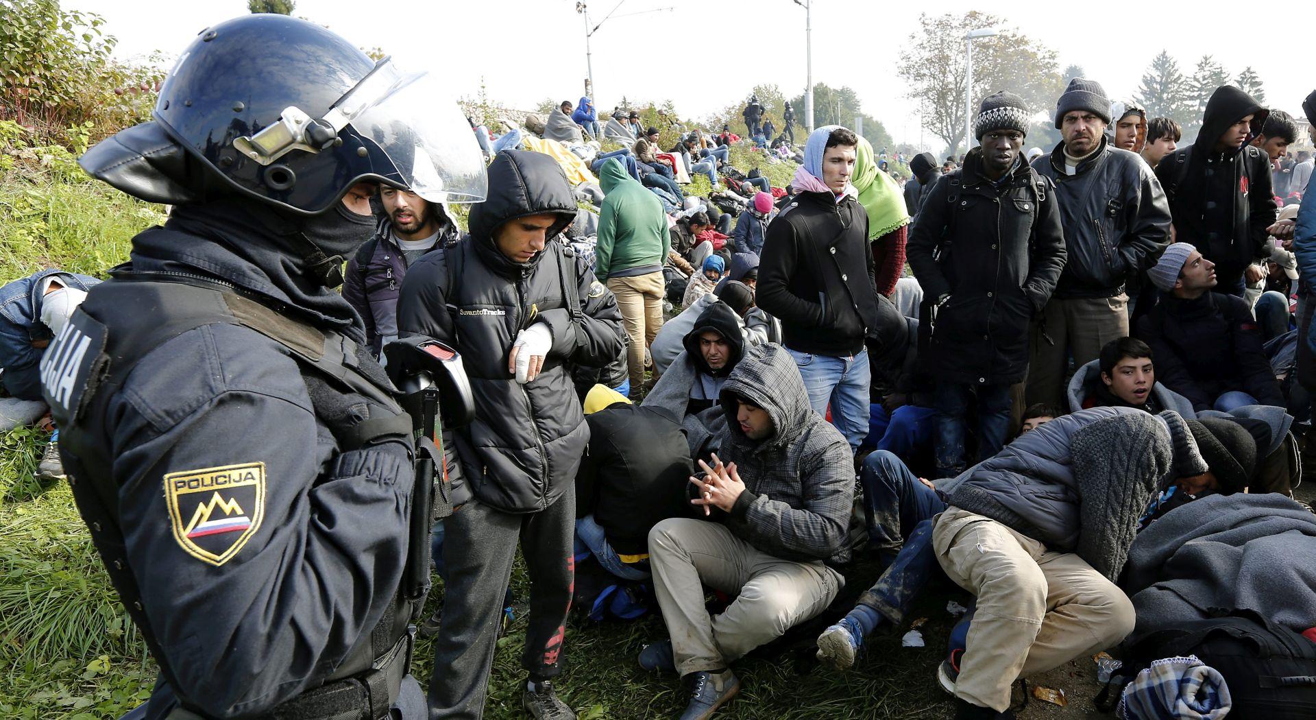 SLOVENIJA ANGAŽIRA UMIROVLJENE POLICAJCE; MUP: U Grčkoj će se razdvajati ekonomski migranti od stvarnih izbjeglica