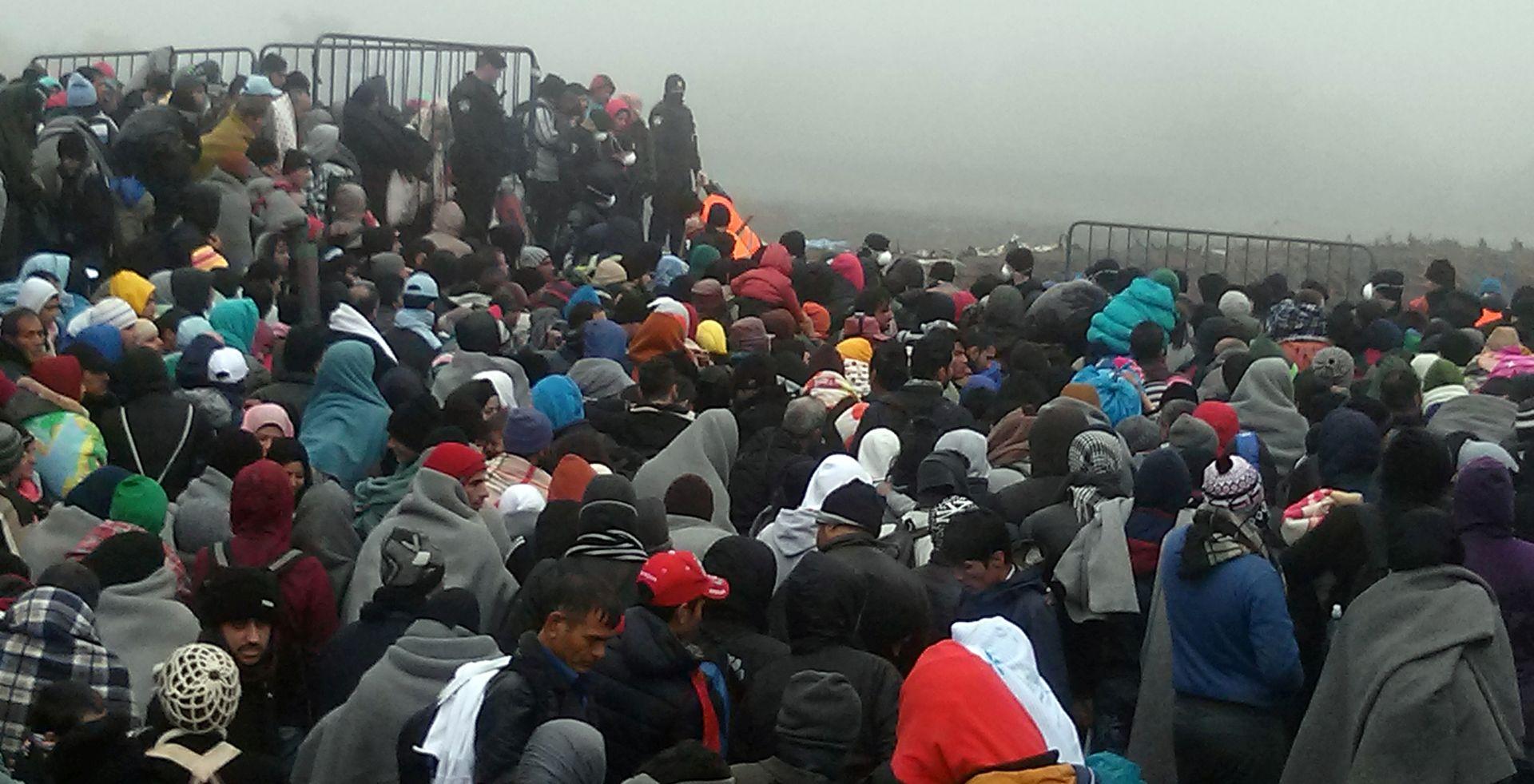 OPATOVAC: Tijekom noći i jutra u RH ušlo 2.383 migranata