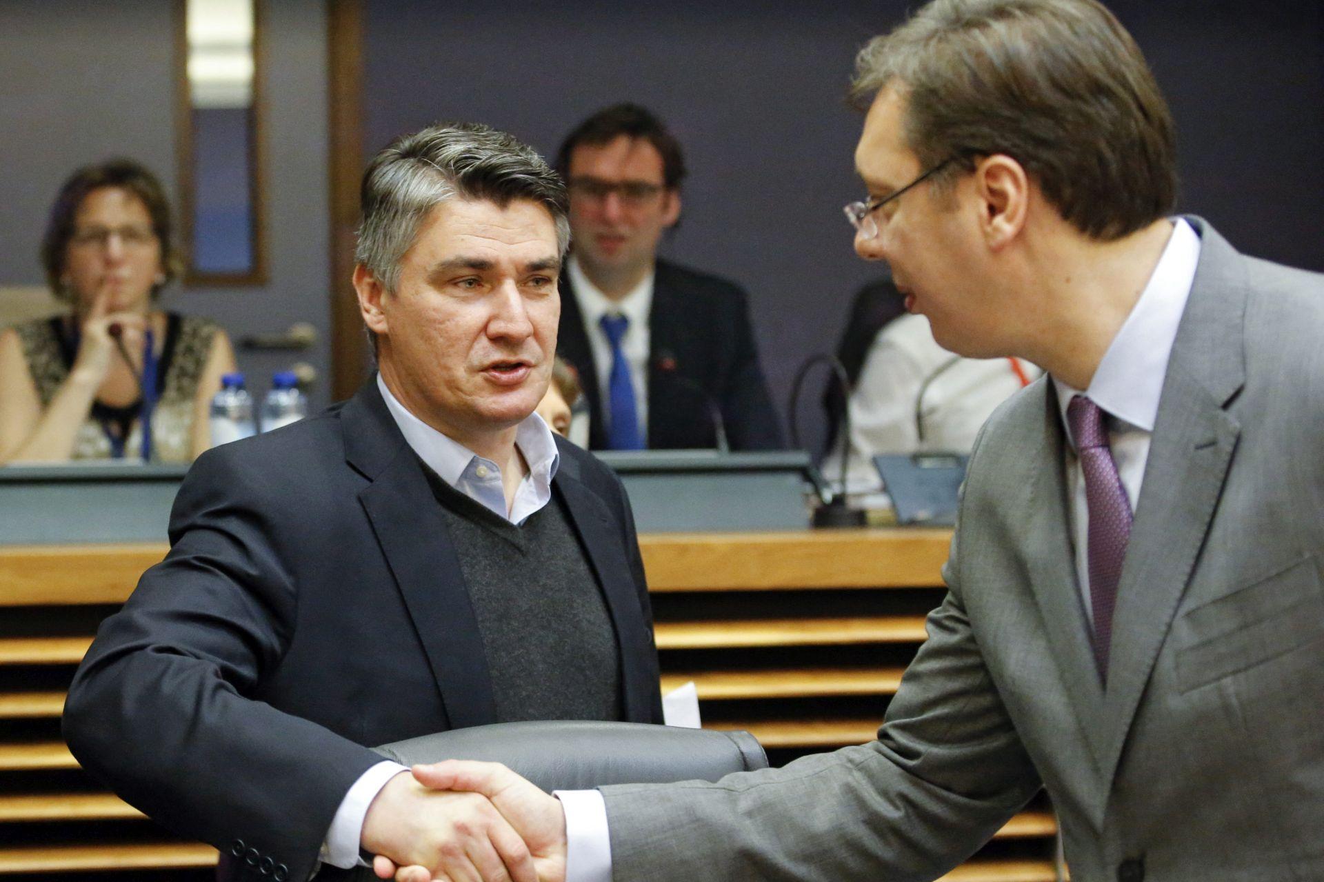 Milanović očekuje konstruktivni razgovor a ne usvajanje neprovedivih zaključaka oko migranata