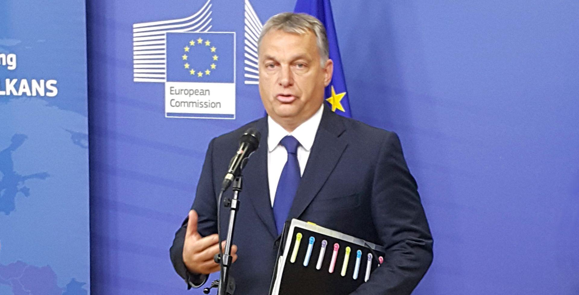 """SASTANAK U BRUXELLESU Orban prvi izašao sa sastanka: """"Mi smo ovdje samo promatrači"""""""