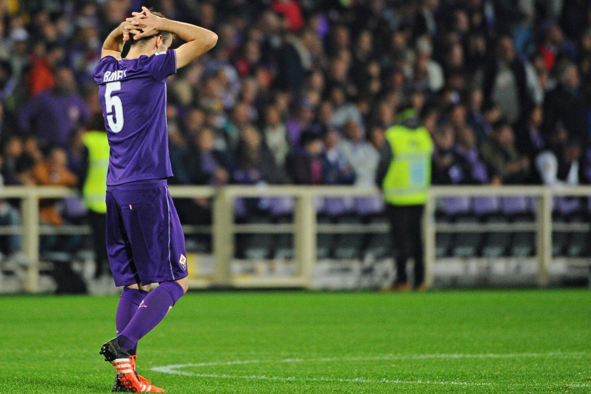 NOVI PORAZ FIORENTINE Roma preuzela vrh Serie A
