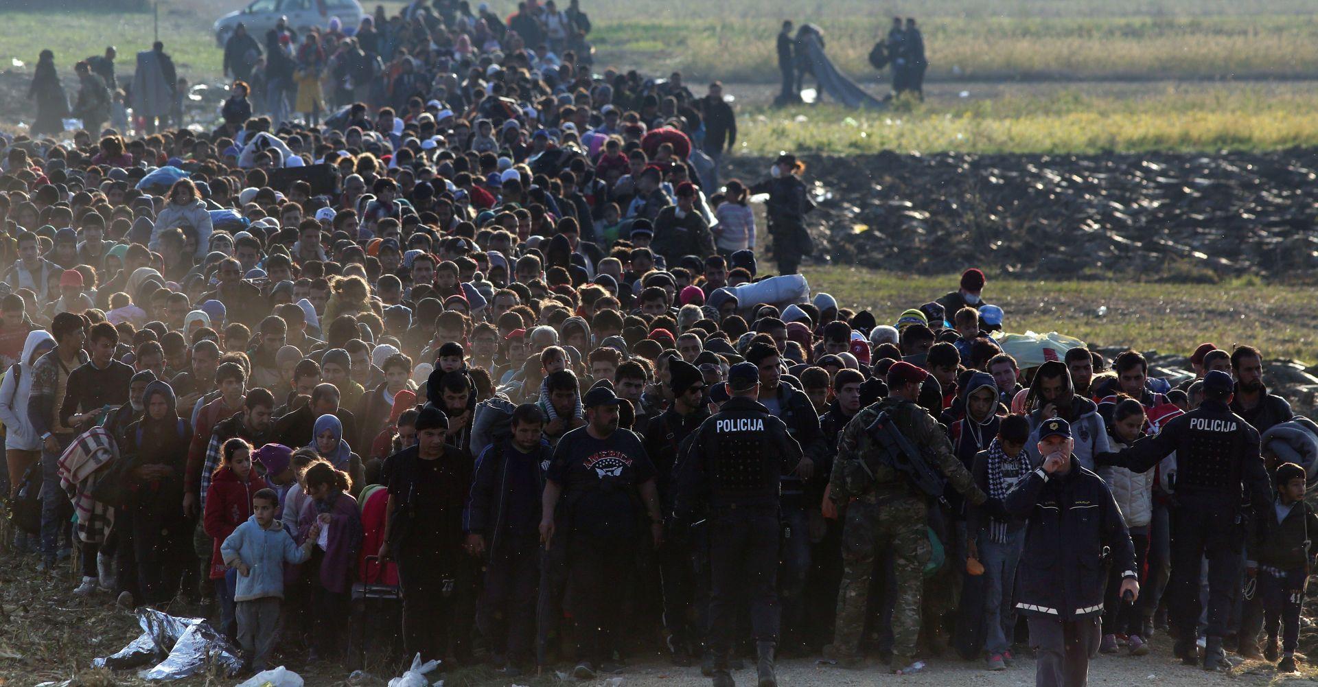 MIGRANTSKA KRIZA: U Sloveniju do sada ušlo 150.000 izbjeglica, u zemlji ih je još 6000