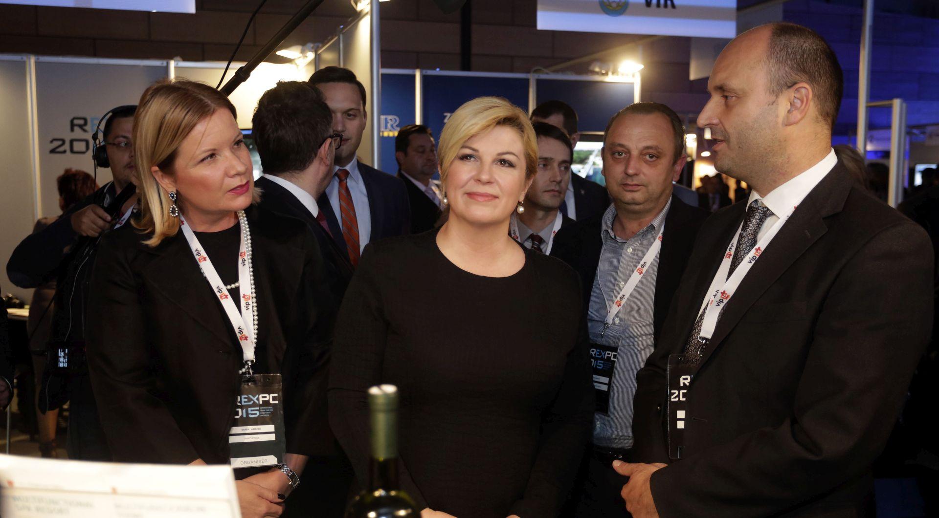 Predsjednica Grabar-Kitarović obišla Rexpo