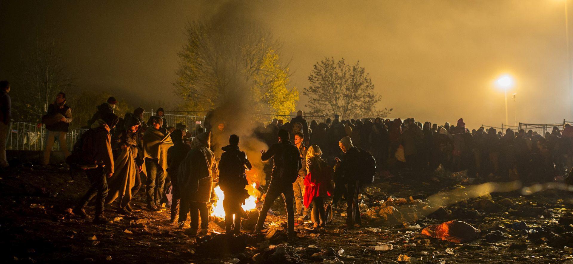 BRŽI PROTOK: U Sloveniji u subotu odljev migranata u Austriju veći od priljeva iz Hrvatske