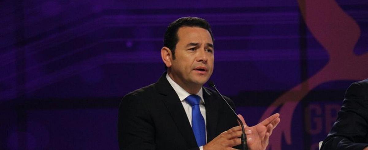 VIDEO: Bivši komičar postao predsjednikom Gvatemale