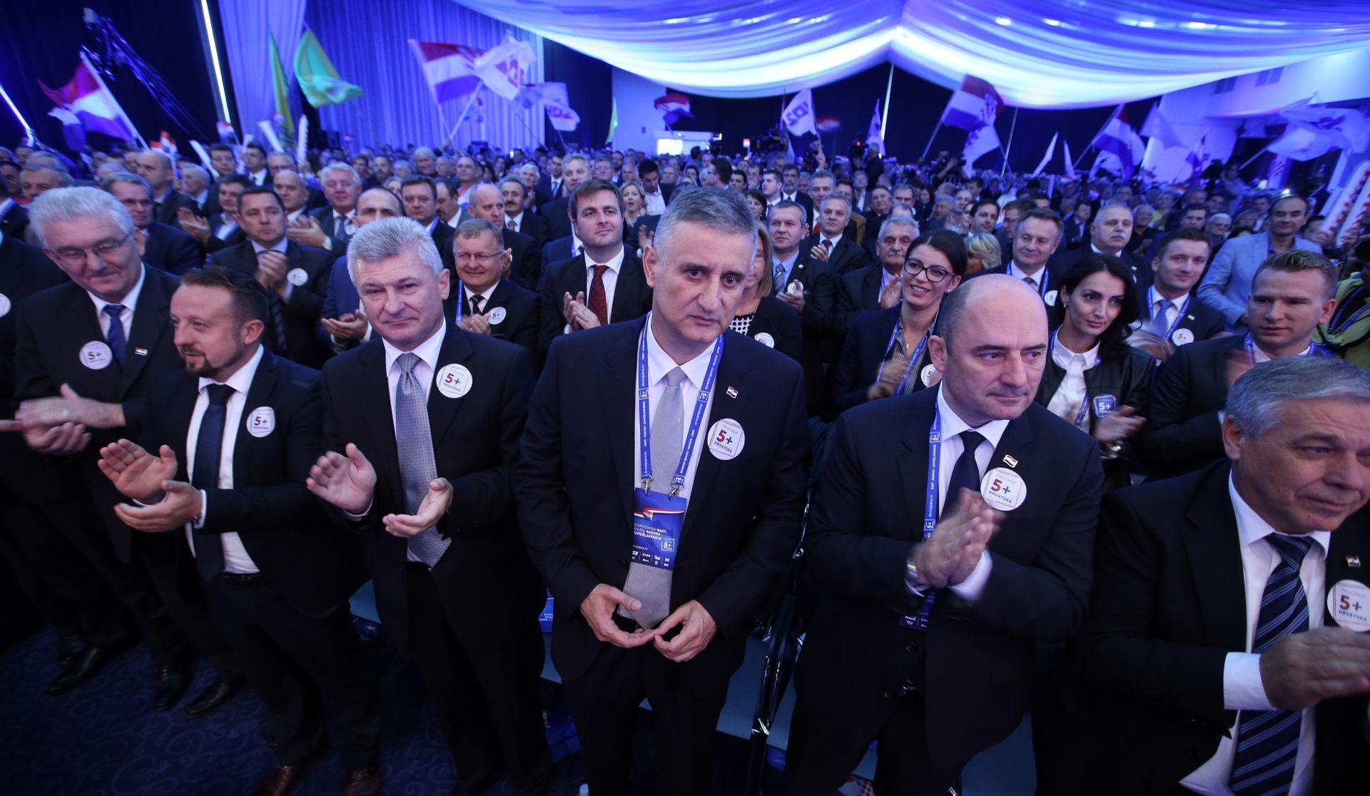 HDZ-ovi koalicijski partneri zadovoljni predstavljenim gospodarskim programom