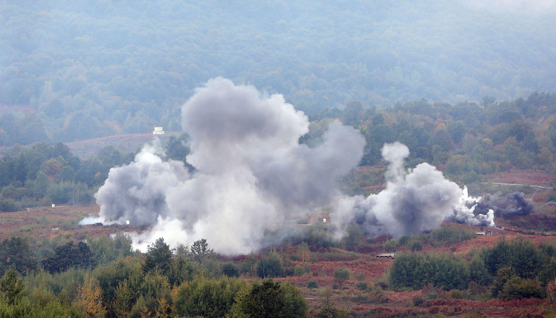 """FOTO: Vojna vježba """"Združena snaga 15"""" najveća od Domovinskog rata"""