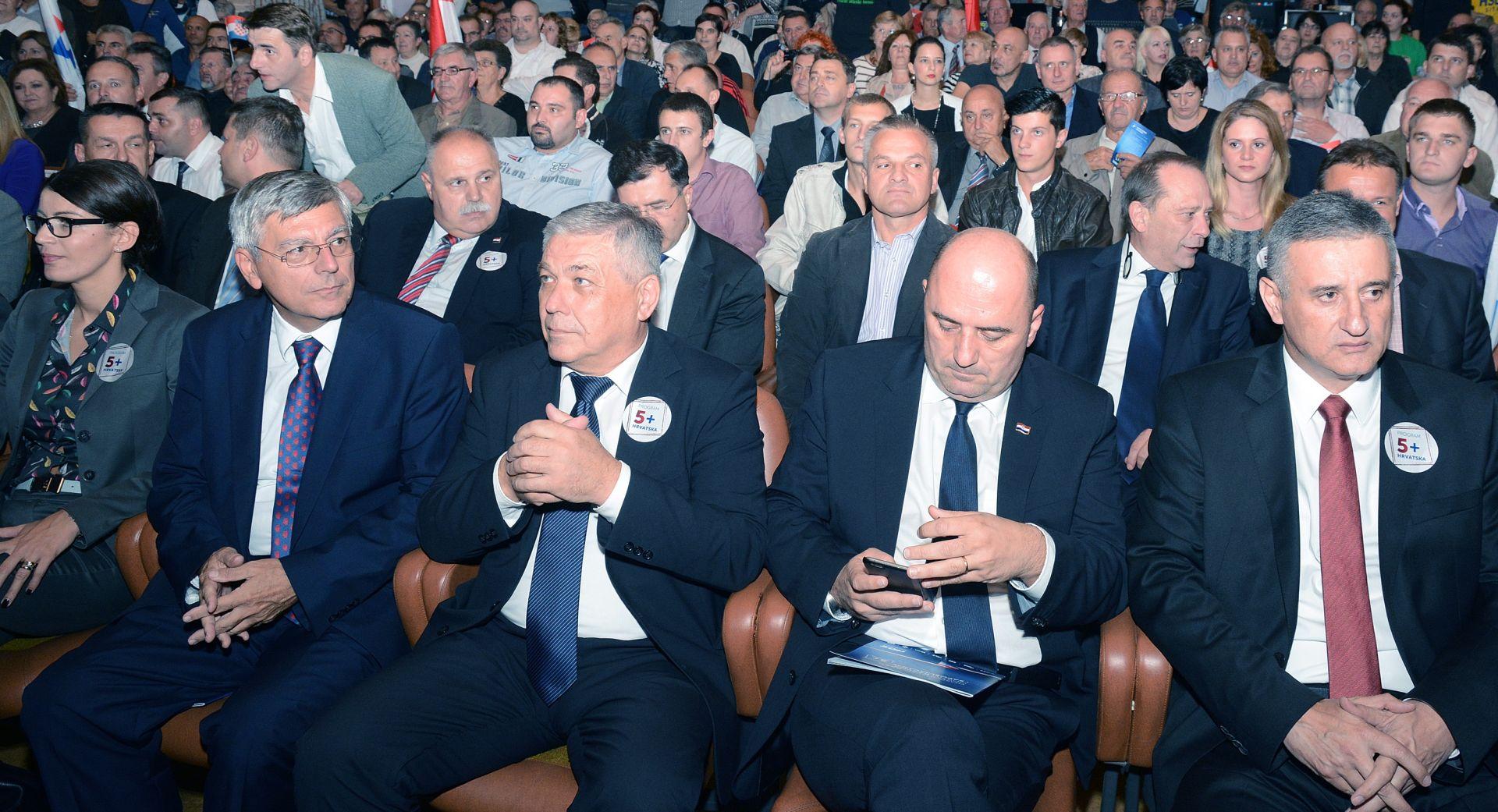 IZBORI 2015. Karamarko u Sisku pozvao protukandidate na sučeljavanje izbornih programa