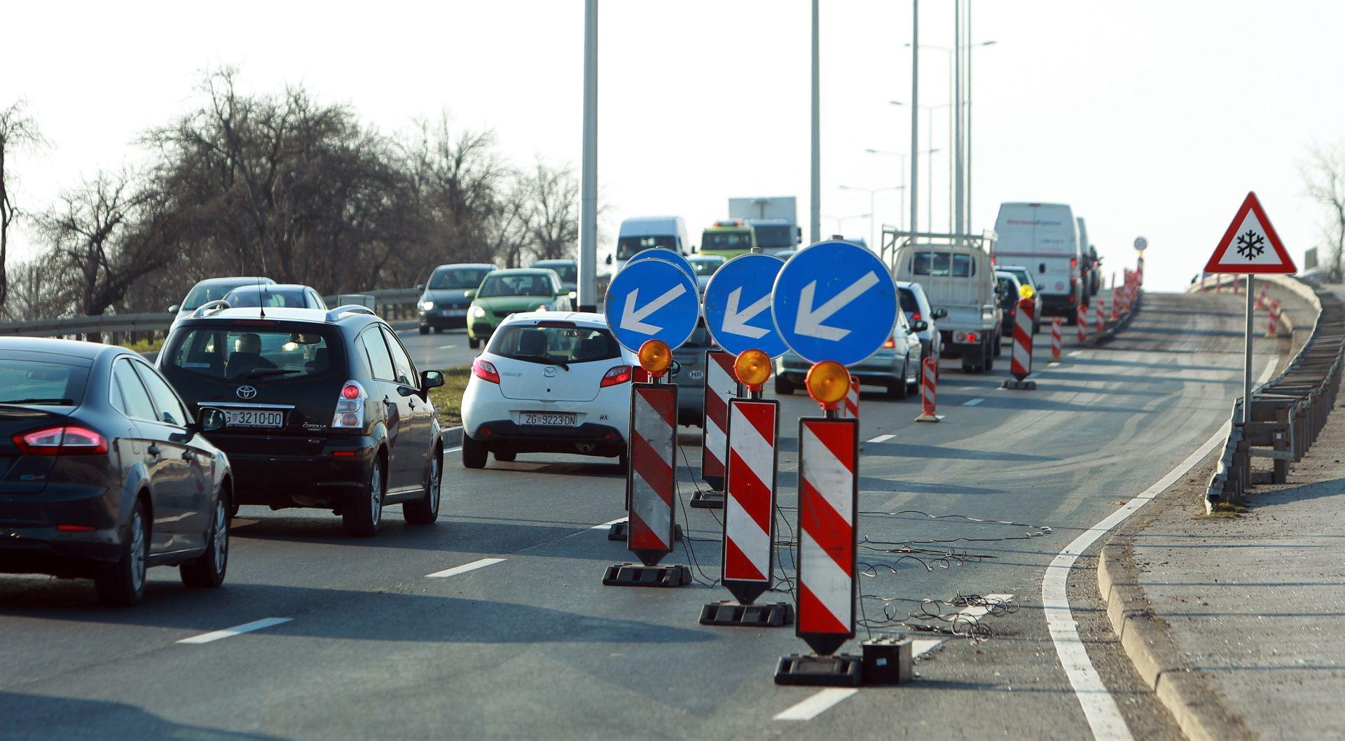 HAK Promet mjestimice usporen zbog radova i jakog vjetra