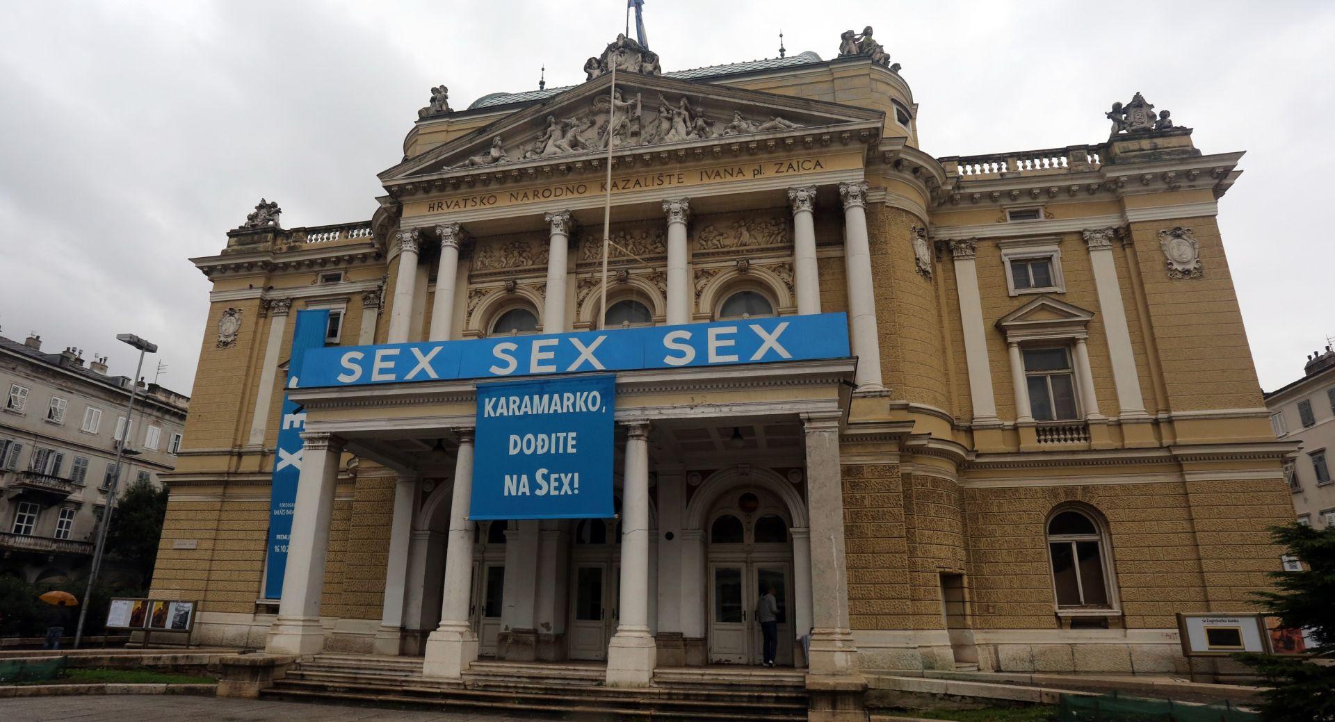 """U riječkom HNK premijerno izveden balet """"Sex"""""""