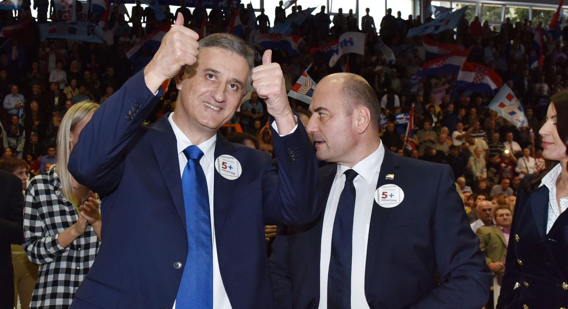 """IZBORI 2015. Karamarko: Premijeru, ministrima i zastupnicima plaću svesti """"u realne okvire"""""""