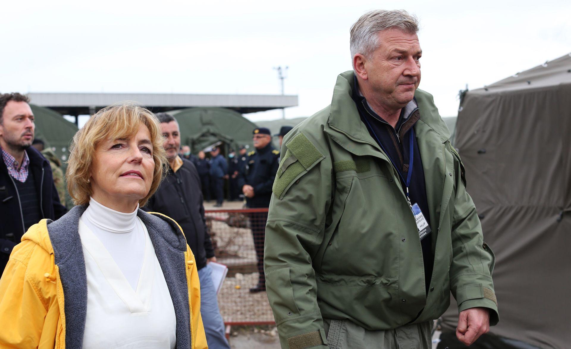 OSTOJIĆ OTKRIO PLAN C Pusić: RH i Slovenija dogovarat će ritam propuštanja migranata