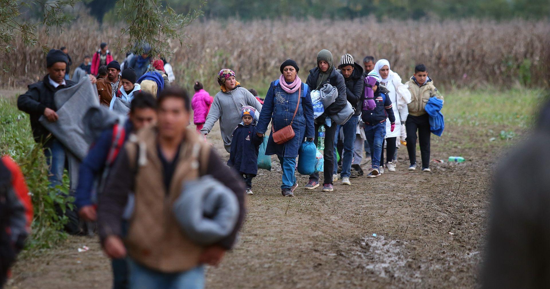 Slovenija: Na graničnom prijelazu Rigonce/Harmica nova skupina izbjeglica