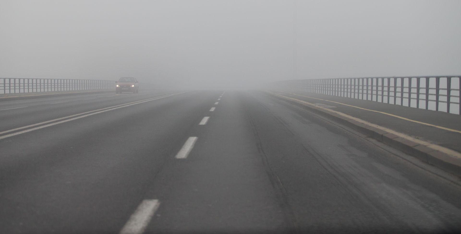 HAK Magla smanjuje vidljivost u Lici i Gorskom kotaru