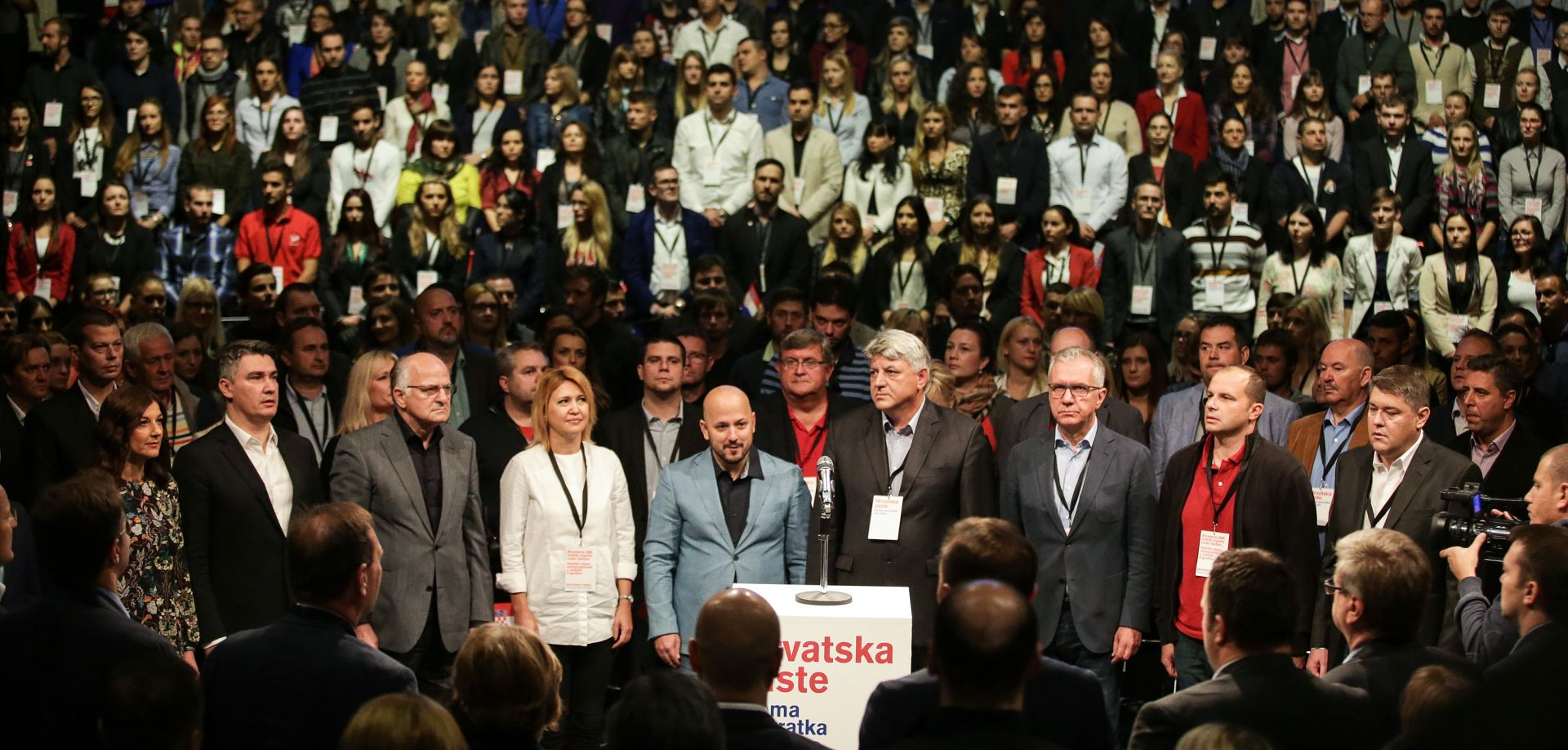 IZBORI 2015. Koalicija Hrvatska raste objavila izborne liste