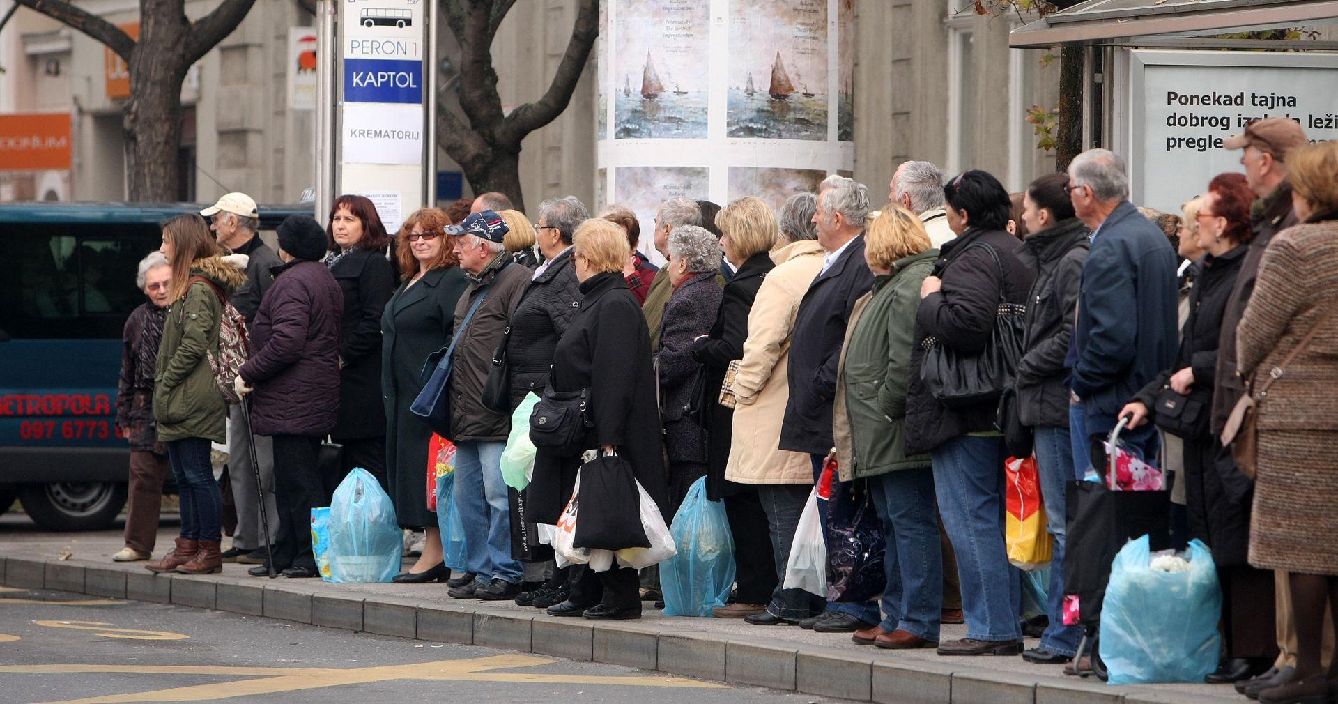 Zagreb: Posebna regulacija prometa za blagdan Svih svetih