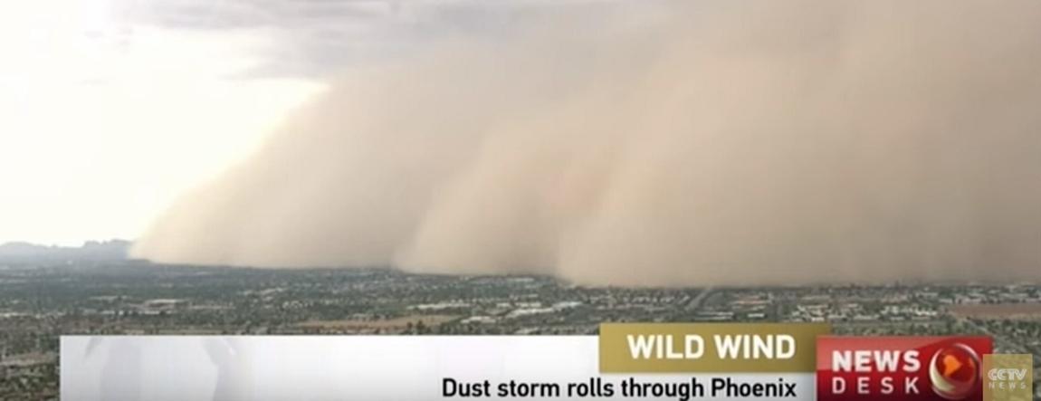 VIDEO: Američki grad Phoenix pokriven oblakom prašine