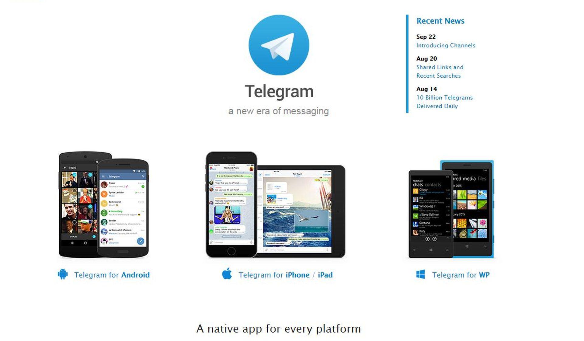 POPULARNA APLIKACIJA Telegram zabranjen u Iranu jer je odbio dopustiti špijuniranje korisnika