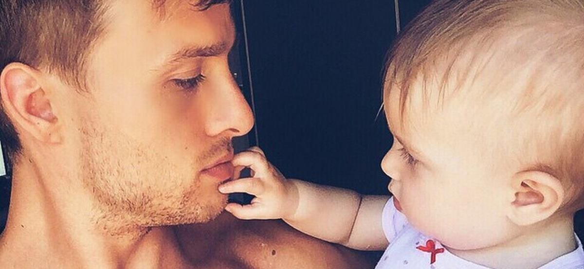 BRIŽAN OTAC Vlaho Arbulić slobodno vrijeme provodi sa svojom kćerkicom