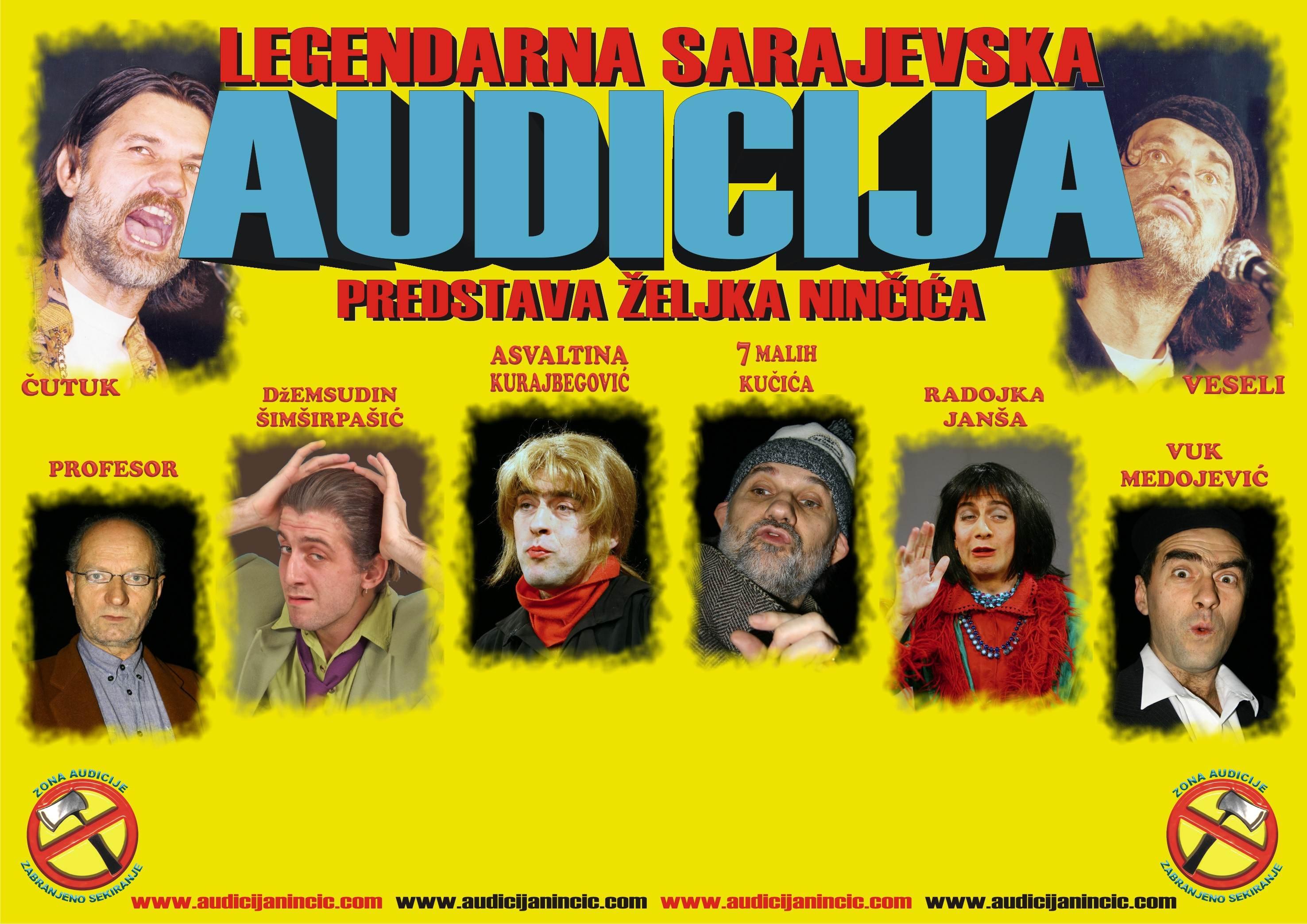 SPEKTAKULARNA JUBILARNA TURNEJA: 30 godina legendarne predstave Željka Ninčića