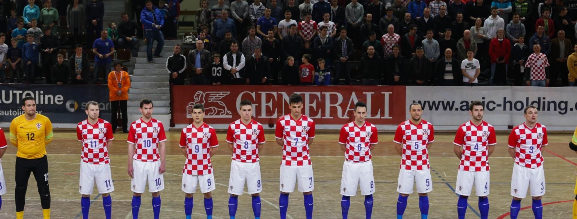 EP futsal: Hrvatska u skupini s Rusijom i Kazahstanom