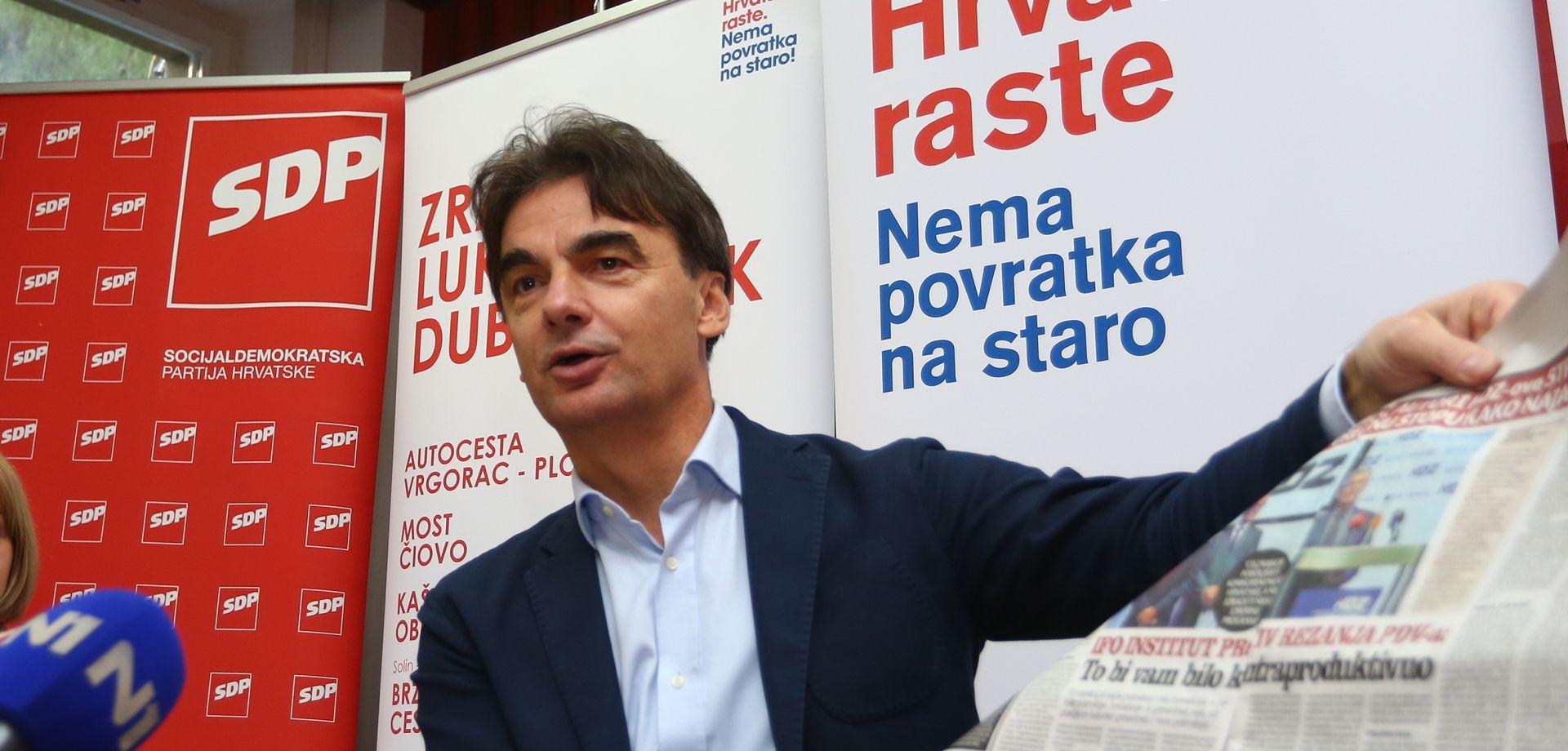 Grčić: I IFO institut se ograđuje od HDZ-ove najave smanjivanja PDV-a