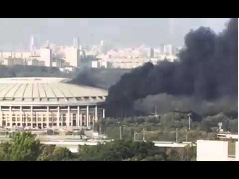 VIDEO: NASREĆU BEZ ŽRTAVA I ŠTETE Zapalio se stadion Lužniki u Moskvi na kojem će se igrati finale SP-a