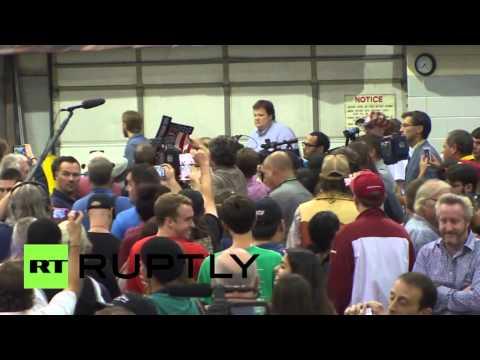 VIDEO: Tučnjava prekinula predizborni skup Donalda Trumpa