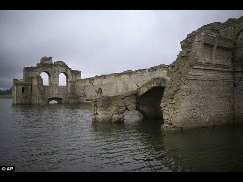 VIDEO: ZAPANJUJUĆI PRIZORI Iz vodenog groba izvirila meksički samostan, sve zahvaljujući suši