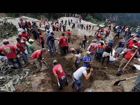 VIDEO: Odron u Guatemali, nestalo preko 600 osoba