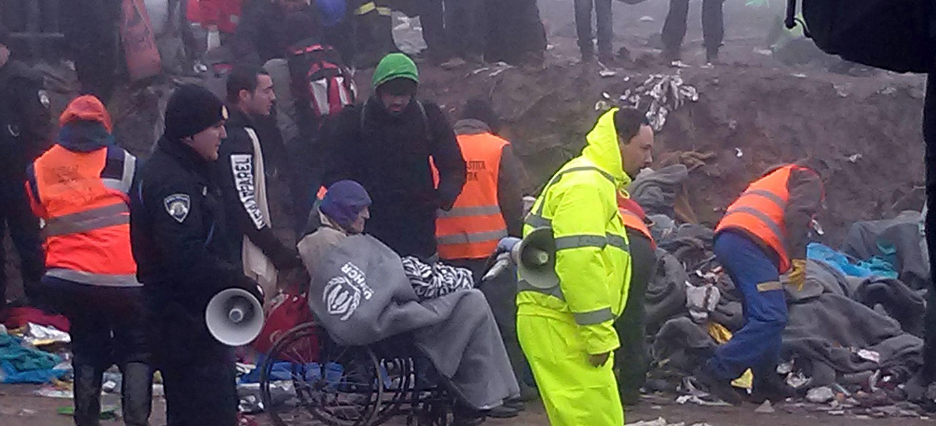 STALNO PRISTIŽU: Do 15 sati u Hrvatsku ih ušlo 5873 migranata