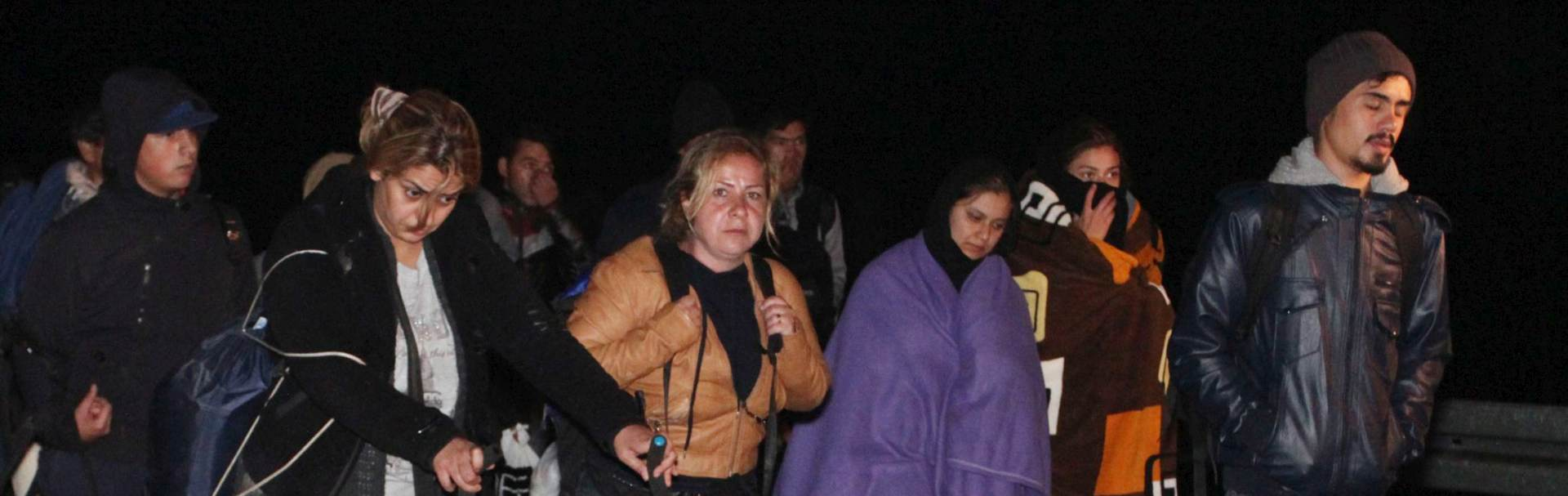 PREMA SLOVENIJI: Na kolodvoru Tovarnik ukrcavaju se u vlak za Čakovec