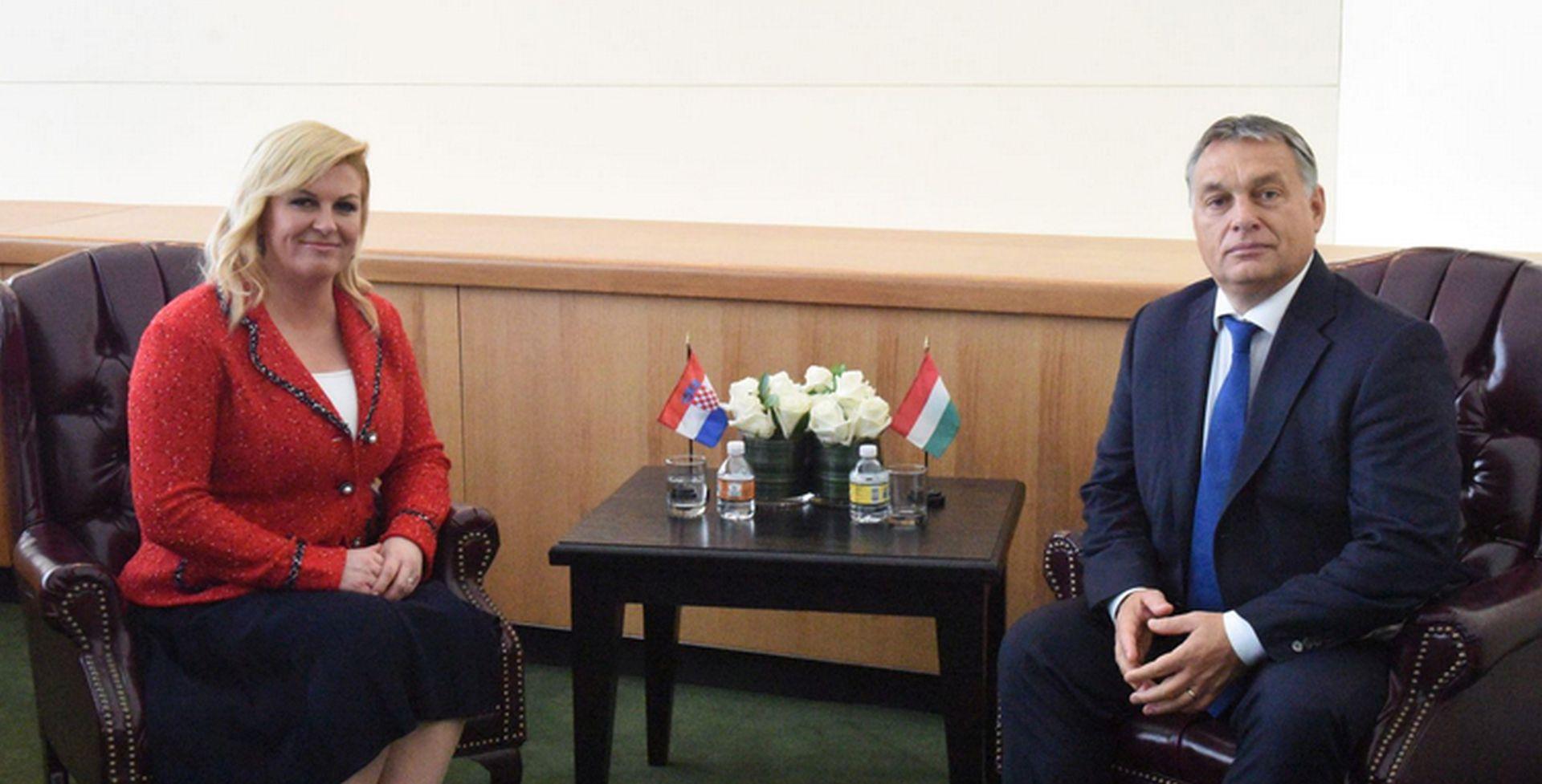 SMIRIVANJE TENZIJA: Kolinda Grabar-Kitarović počela posjet Mađarskoj